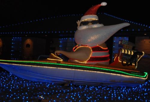 Santa Boat