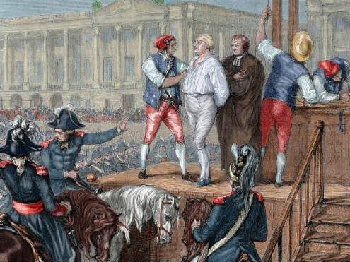 The Execution of King Louis